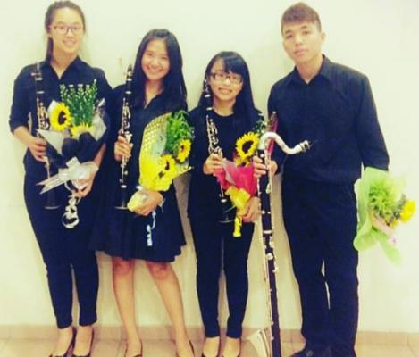 台北最專業的豎笛家教老師就在藝聲家